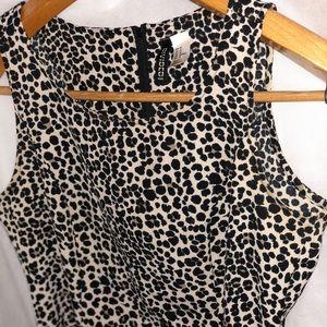 H&M Leopard 🐆 dress - size 10 NWOT